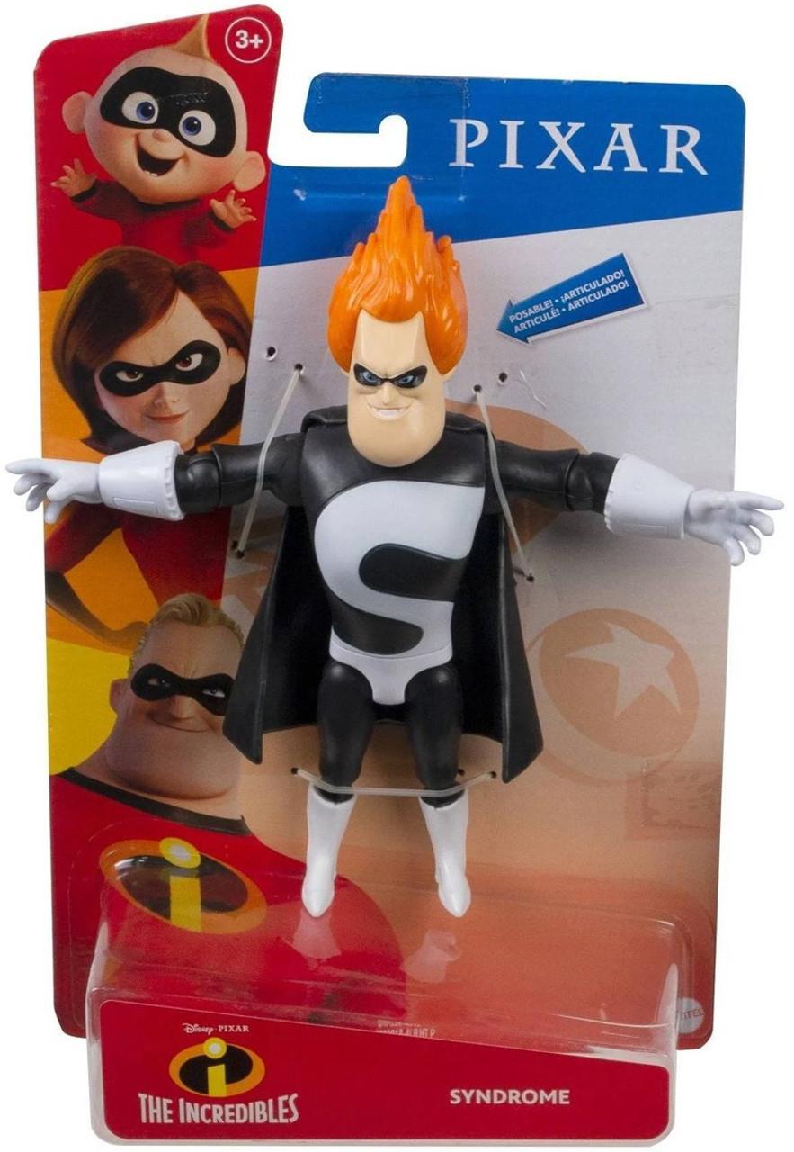 Disney Pixar The Incredibles Core Syndrome Action Figure Mattel Toywiz