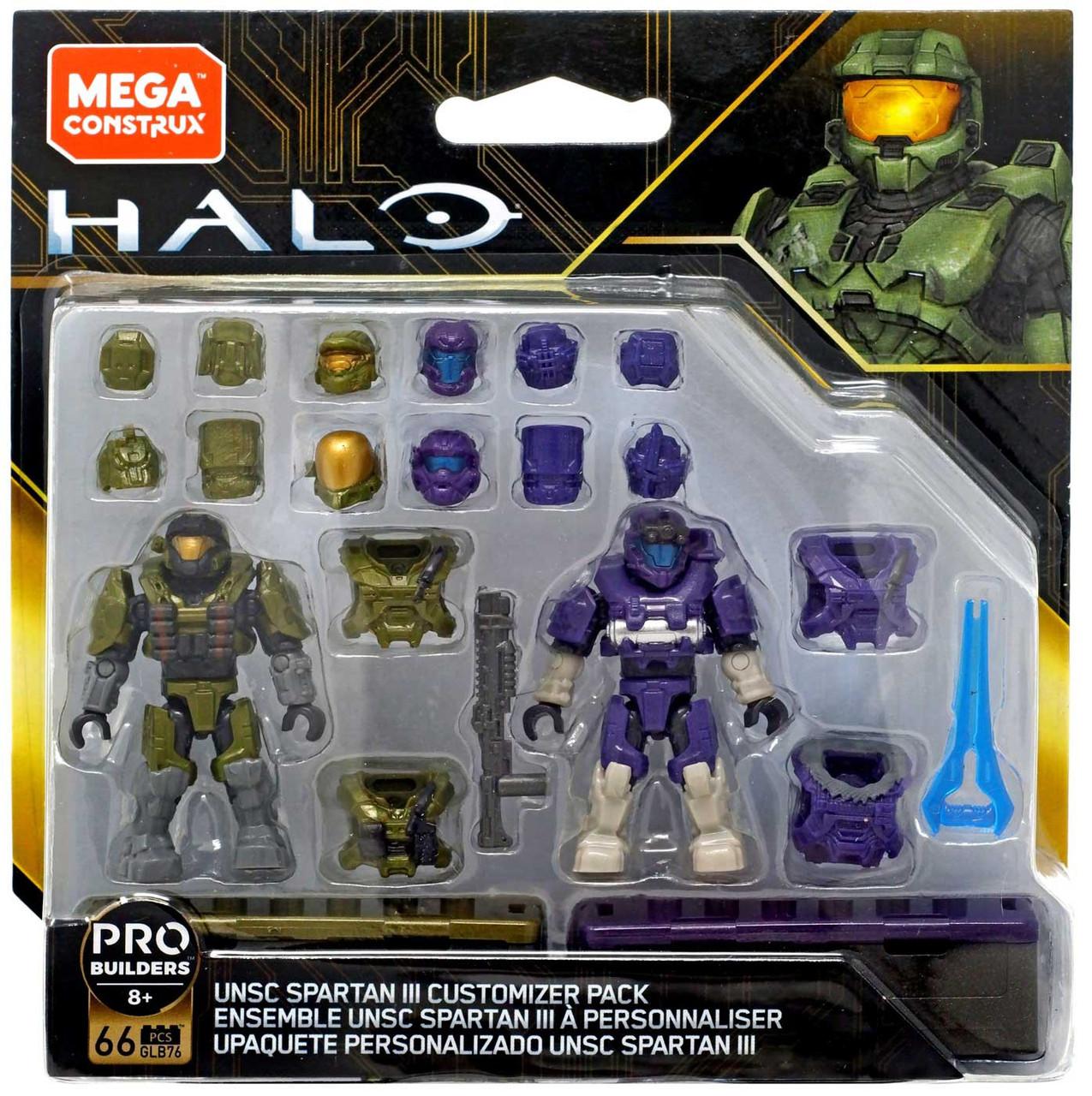 Details about  /Halo Mega Construx Unsc Spartan 3 Customize Pack