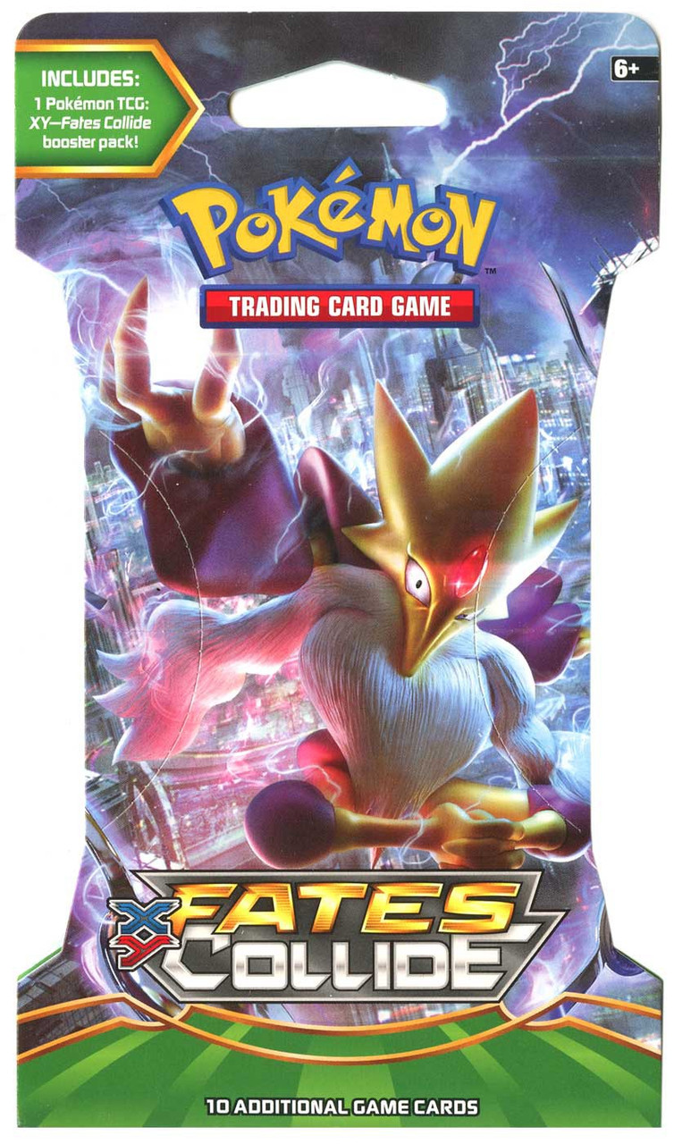 Pokemon XY Fates Collide Sleeved Booster 36 Packs  Factory Sealed