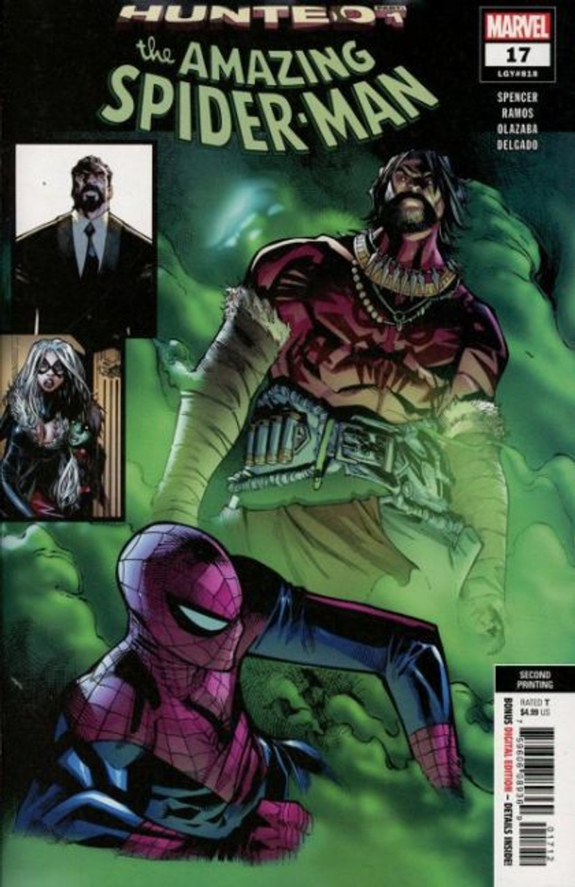 AMAZING SPIDER-MAN #16 MARVEL COMICS KRAVEN COVER A 2nd PRINT