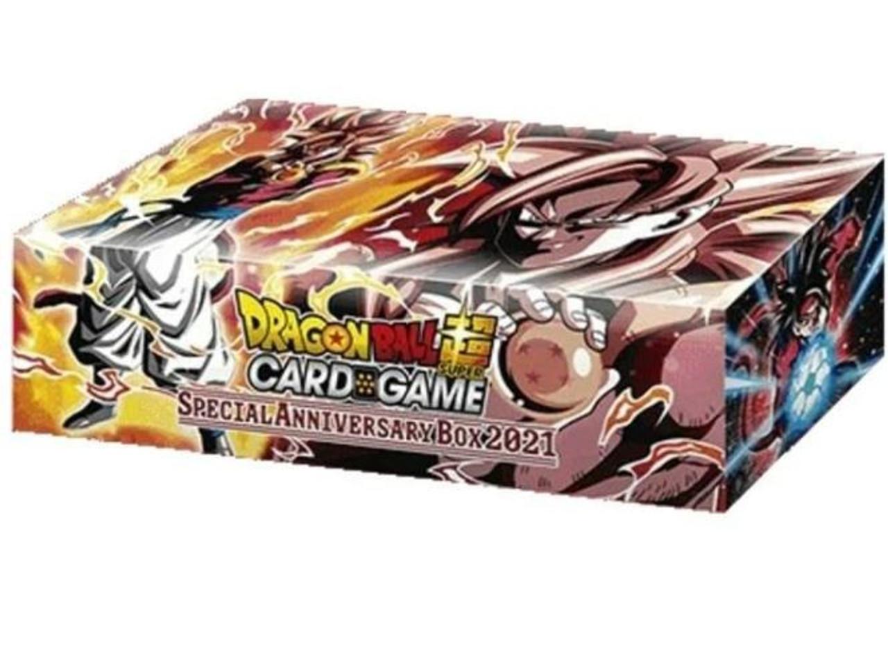 Dragon Ball Super Trading Card Game 2021 Special Anniversary Box Set Bandai Japan Toywiz