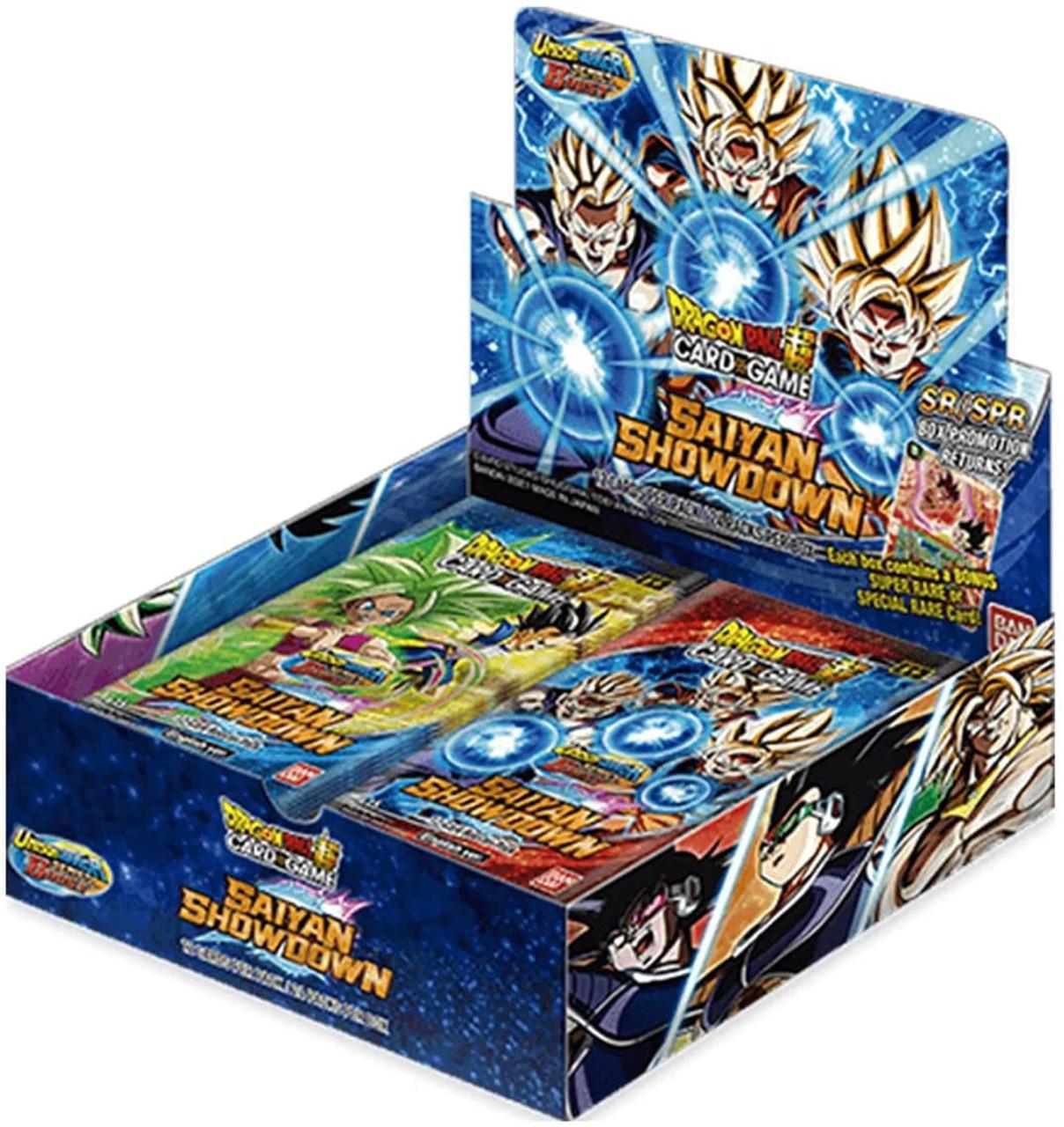 Dragon Ball Super Trading Card Game Unison Warrior Series 6 Booster Box B15 24 Packs Bandai Japan Toywiz