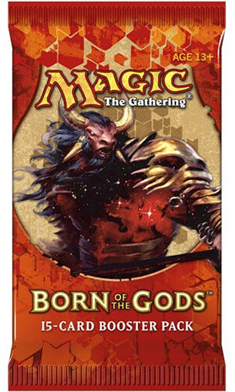 Born of the Gods Xenagos Fat Pack Cover Art Wizards of the Coast BRAND NEW