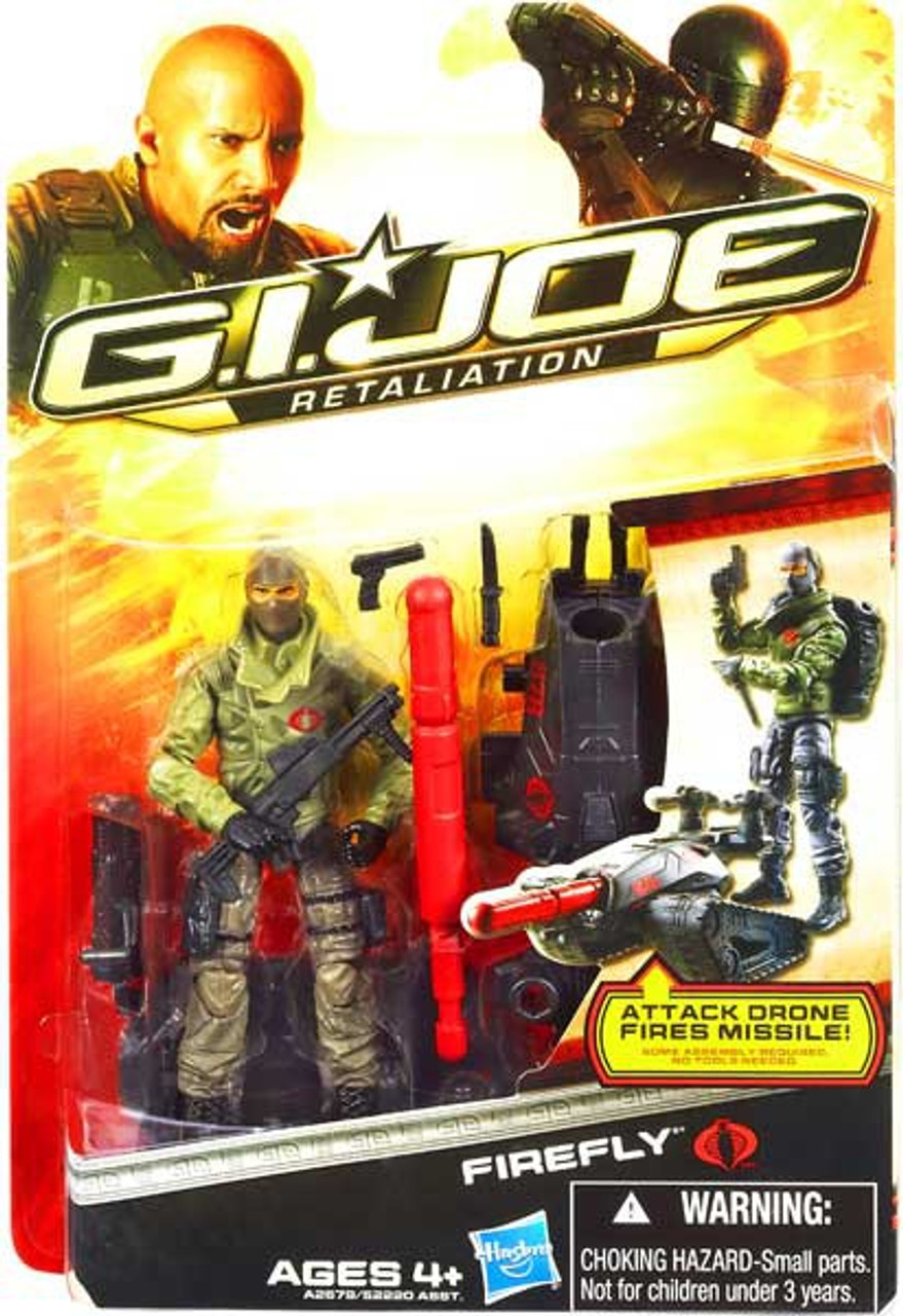 GI Joe Retaliation Firefly Action Figure