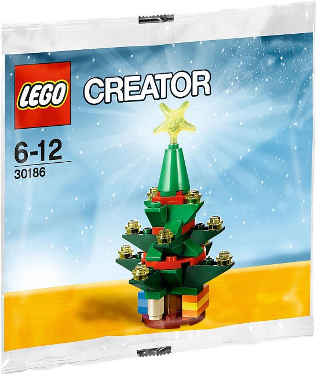 LEGO Creator Christmas Tree Mini Set 30186 Bagged