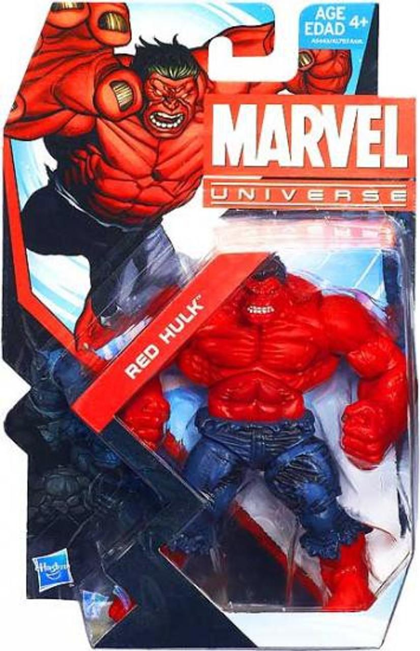 "Marvel Universe 3.75/"" Red Hulk Loose Action Figure"