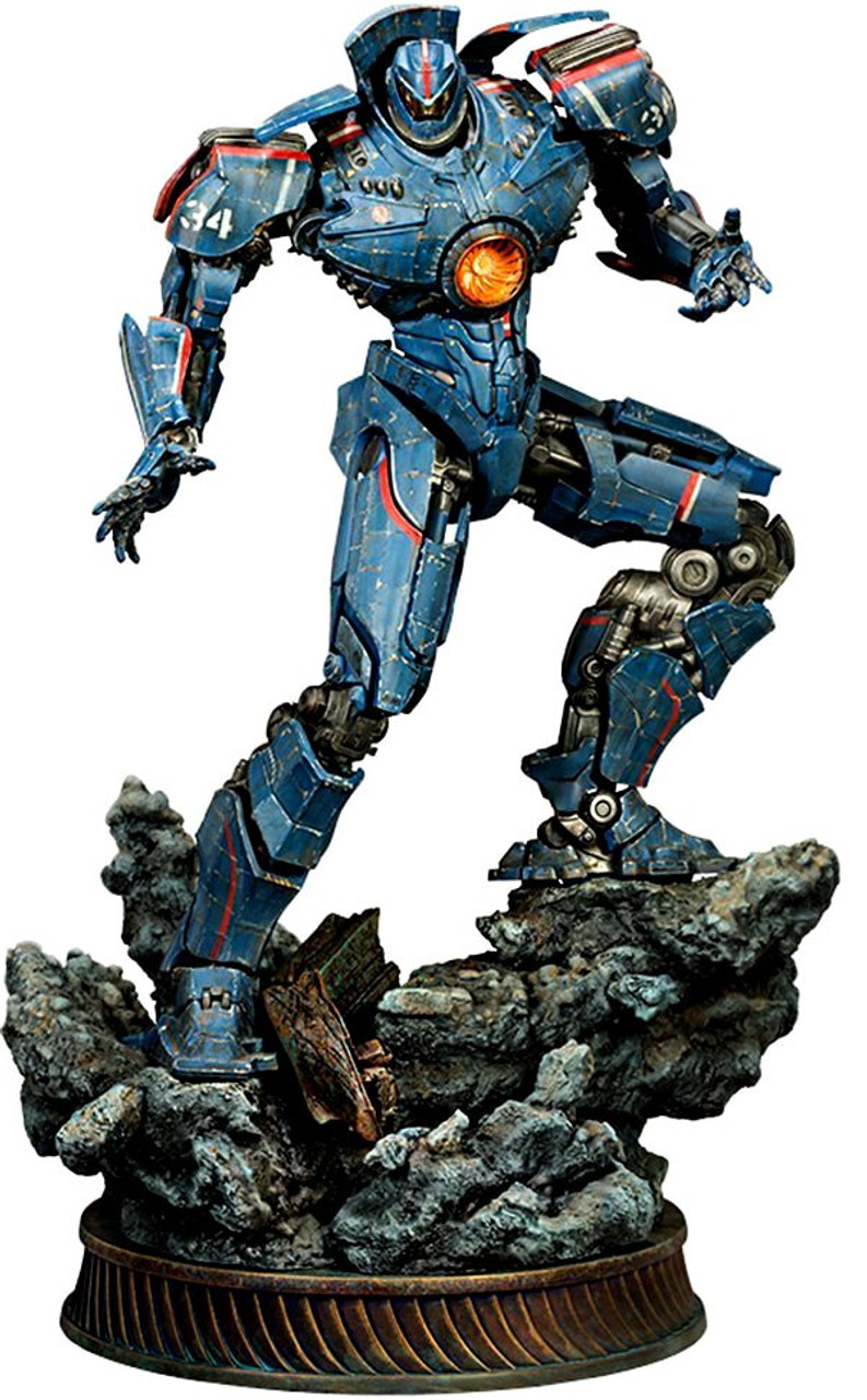 Pacific Rim Gipsy Danger Statue Sideshow Collectibles ToyWiz