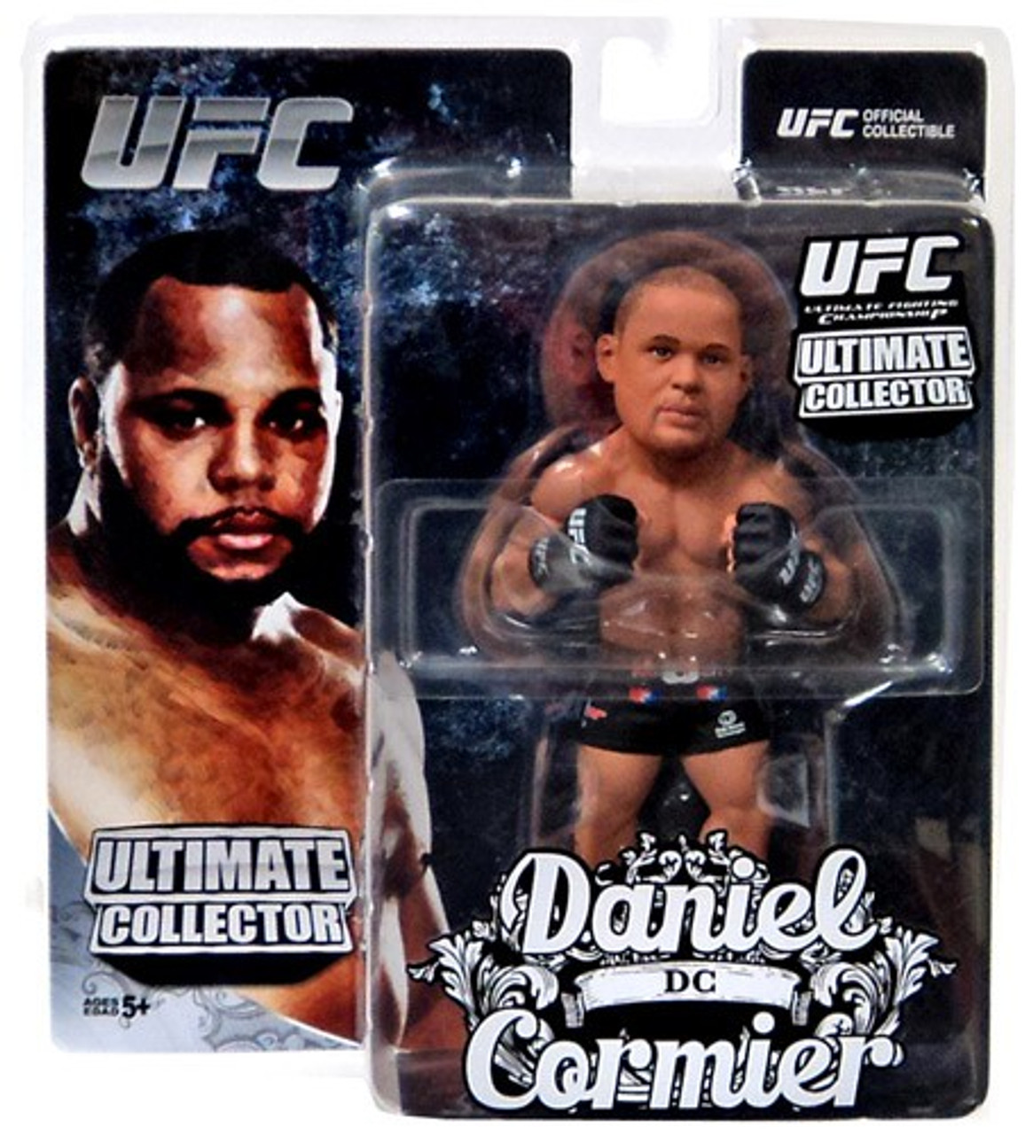 UFC Round 5 Anderson Silva Ultime Collector SERIES 3 Figure World of MMA