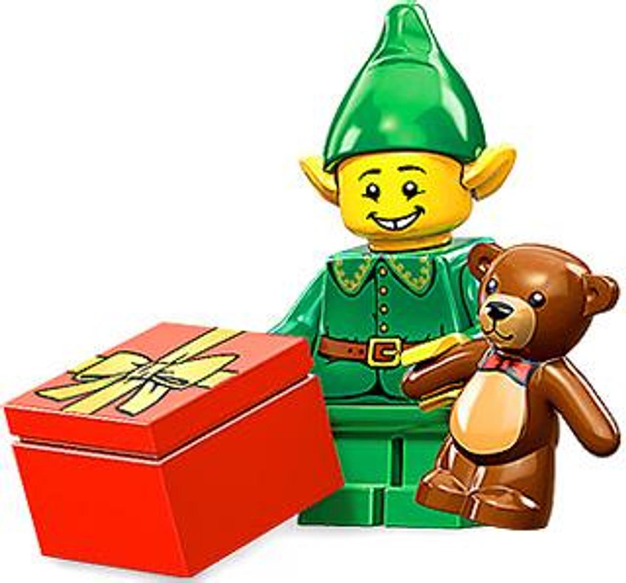 LEGO Minifigures Series 11 Holiday Elf Minifigure Loose ...