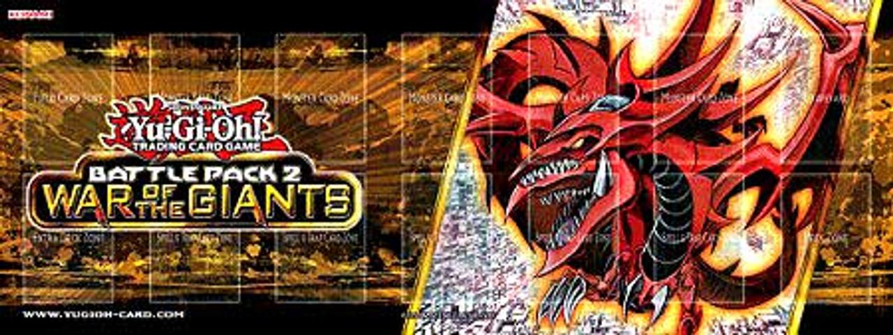 Yugioh Battle Pack 2 War Of The Giants Slifer The Sky Dragon Play Mat Konami Toywiz