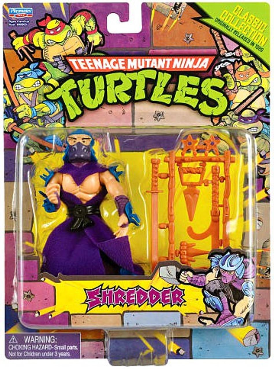 Teenage Mutant Ninja Turtles 1987 Retro Shredder 4 Action ... Ninja Turtles Toy Ninja Turtles