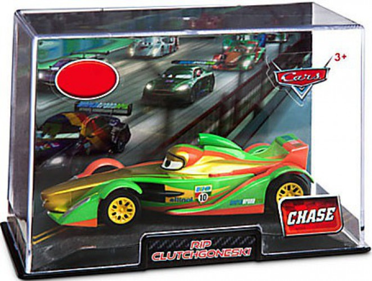 Disney Pixar Cars 2 Francesco edition Chase 1:43 Die Cast Collector Case