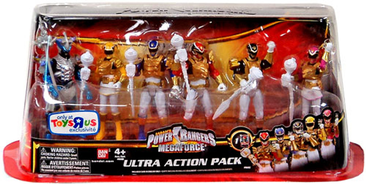 Power Rangers Megaforce Ultra Action Pack Exclusive Action