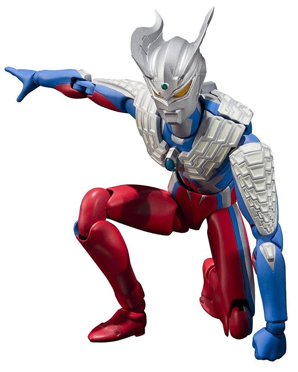 Ultraman Ultra-Act Ultraman Zero 6 Action Figure Bandai ...