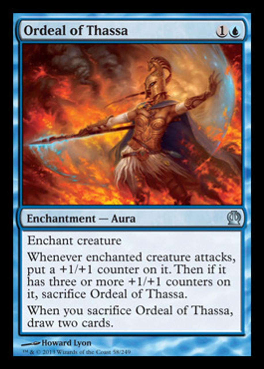 Bident of Thassa Theros Rare MTG Magic