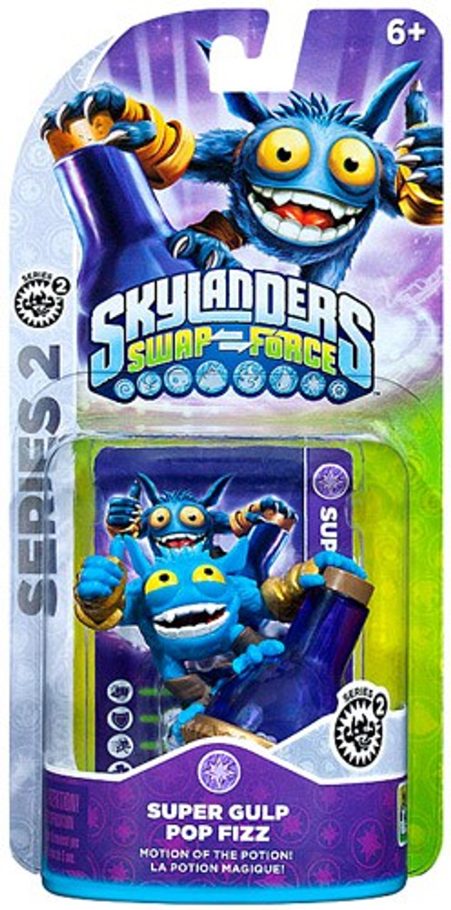 Skylanders Swap Force =Super Gulp Pop Fizz= - YouTube
