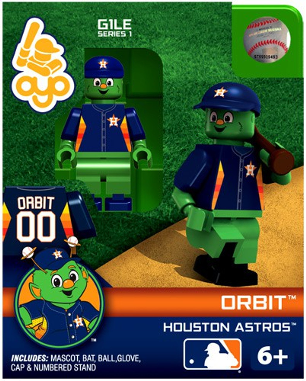 Orbit The Mascot In MLB Coloring Page : Color Luna | 1280x1029