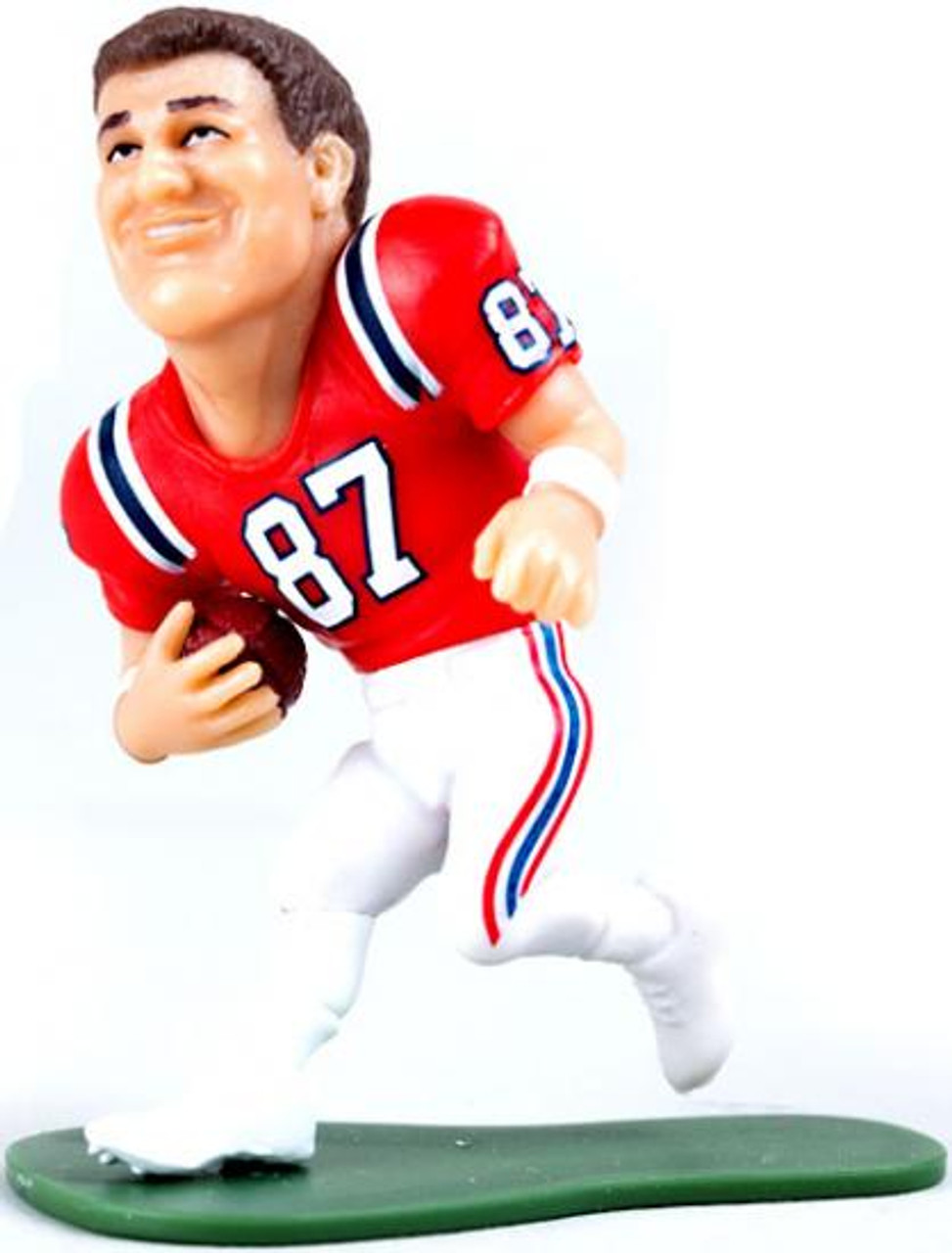 new arrivals 85d1a 61ffc McFarlane Toys NFL New England Patriots Small Pros Series 2 Rob Gronkowski  Mini Figure [Red Jersey Loose]