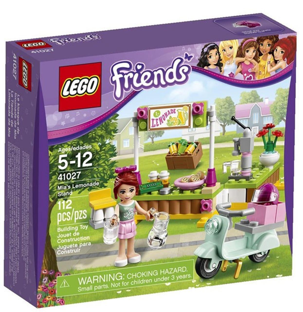 Toywiz Mias Lemonade Friends Stand 41027 Lego Set 7fIbmygY6v