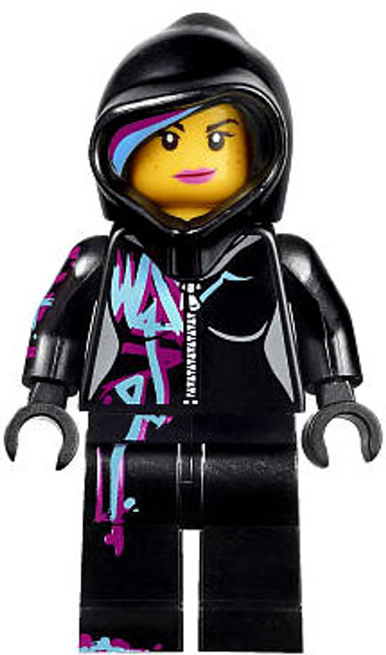 The Lego Movie Loose Wyldstyle Minifigure Hoodie Up Toywiz