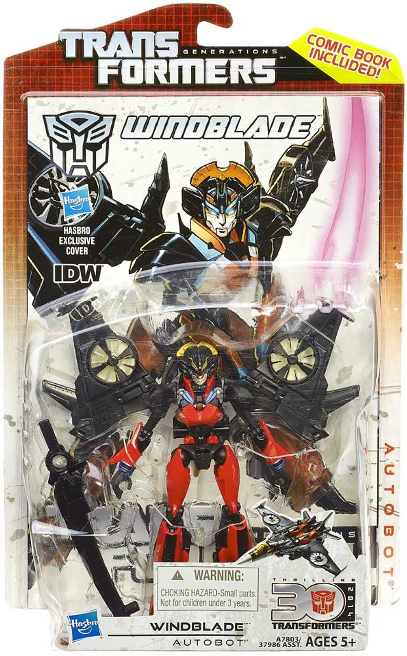 Hasbro Transformers Generations Deluxe Windblade Action Figure
