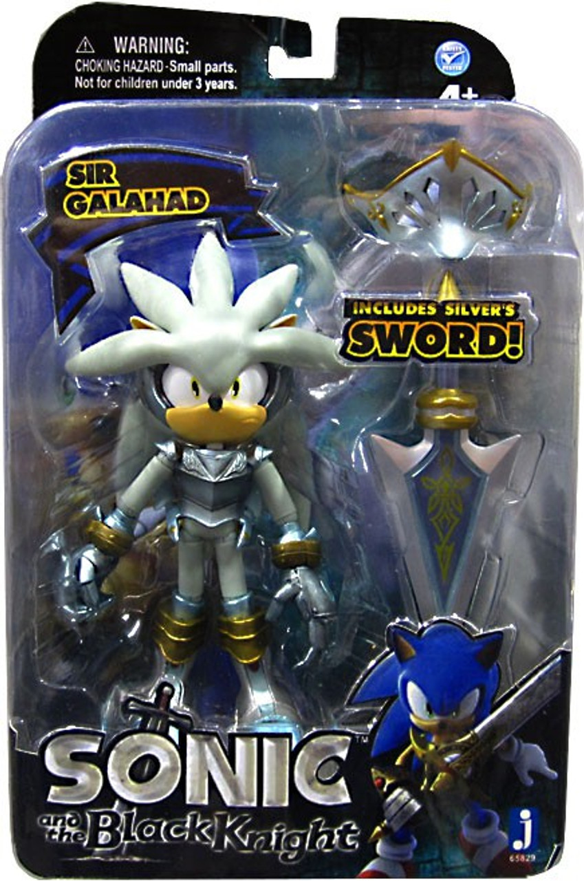 Sonic The Hedgehog Sonic And The Black Knight Silver 5 Action Figure Sir Galahad Jazwares Toywiz