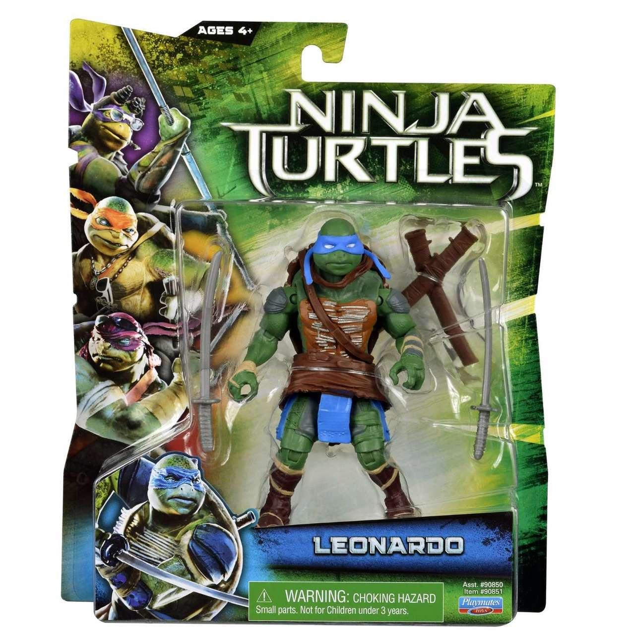 LEONARDO Teenage Mutant Ninja Turtles Combat Warrior Collectible Action Figure