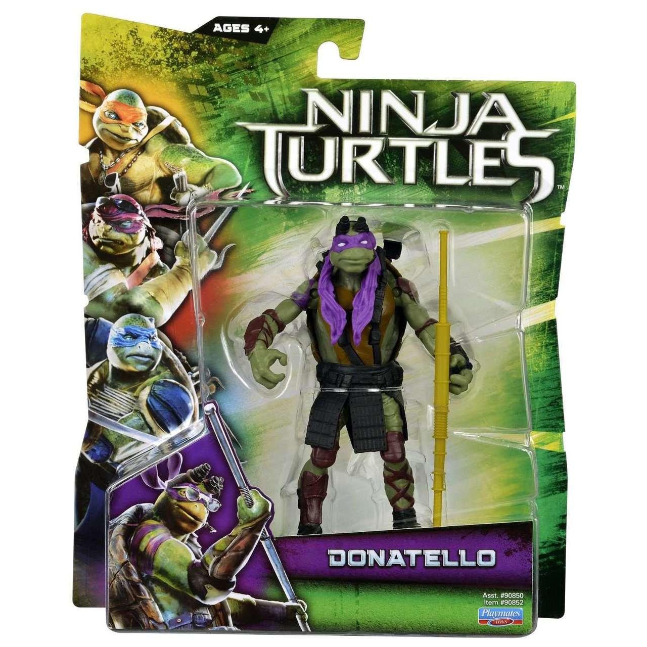 Teenage Mutant Ninja Turtles 2014 Movie Donatello Action Figure