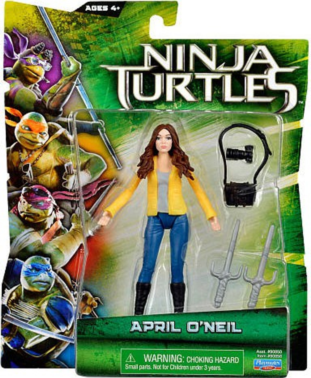 Teenage Mutant Ninja Turtles 2014 Movie April Oneil Action Figure