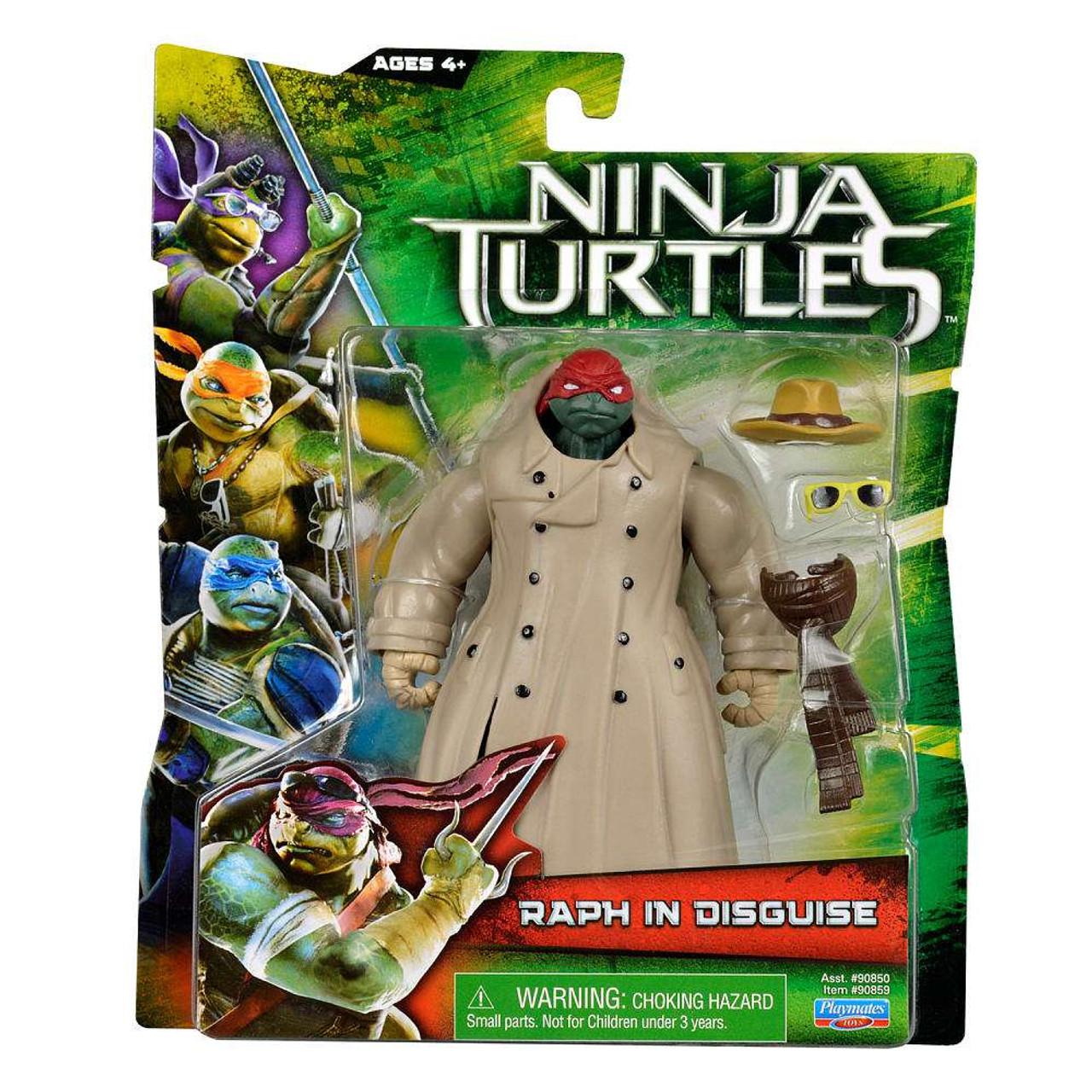 Teenage Mutant Ninja Turtles 2014 Movie Raphael Action Figure Raph