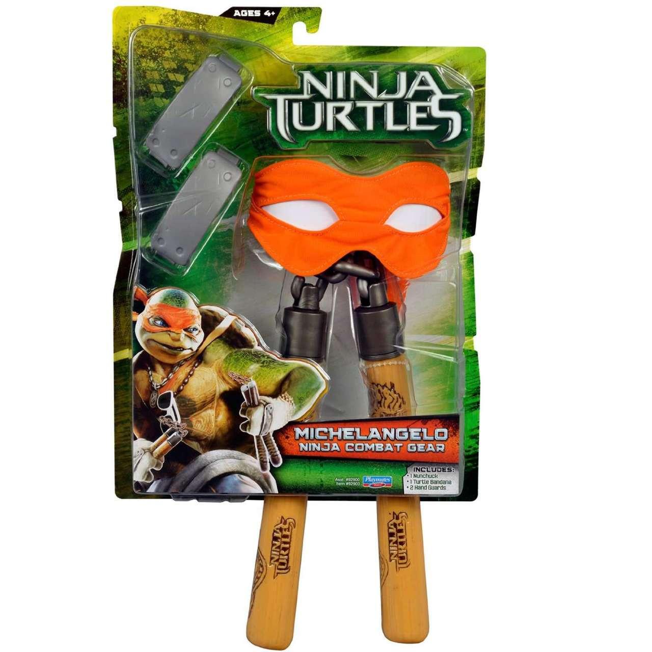 Michelangelo Teenage Mutant Ninja Turtles 2014 movie action figure