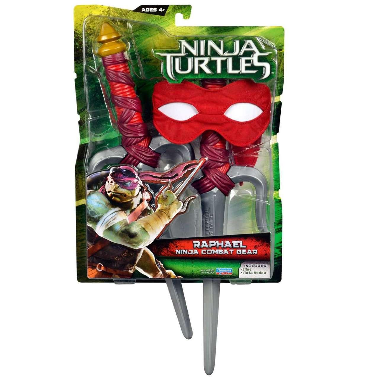 Turtle Bandana TMNT Teenage Mutant Ninja Turtles Raphel Combat Gear SAIS