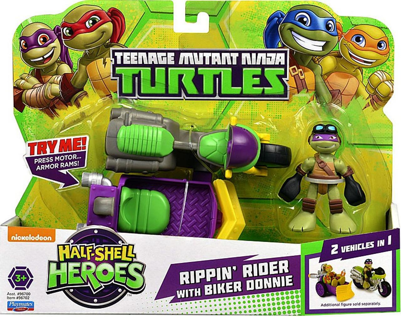Nickelodeon Teenage Mutant Ninja Turtles Half Shell Heroes TMNT Battle Pack Set