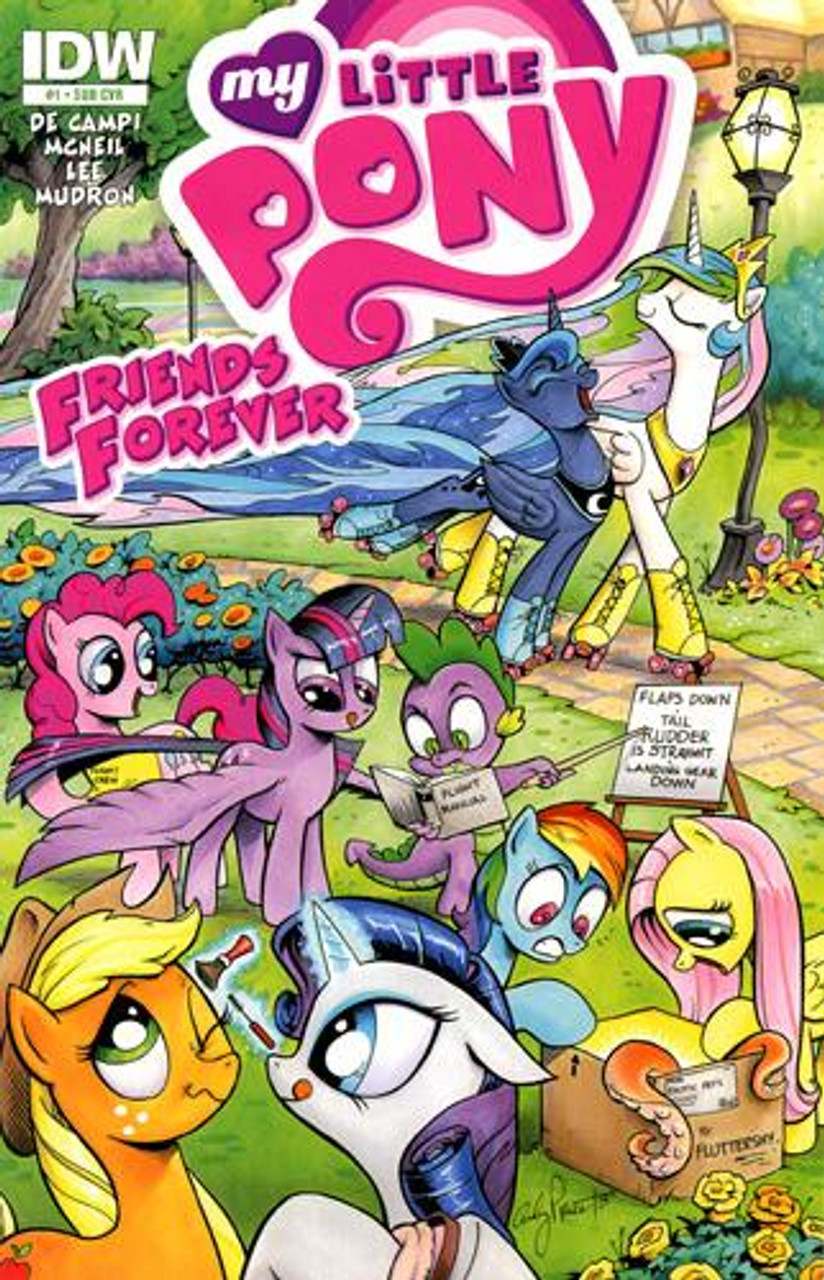 FriendFish comic strip book1