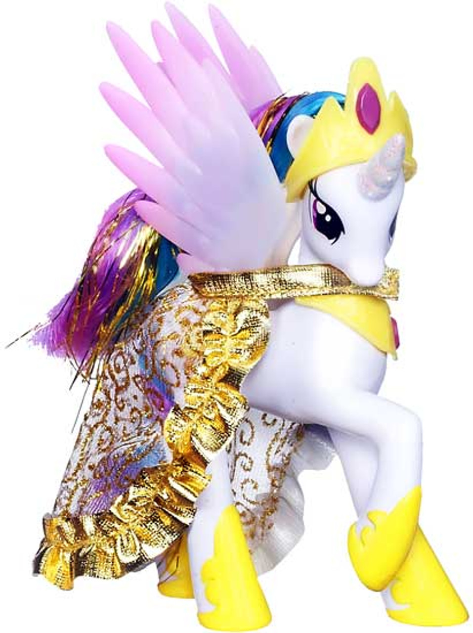 My Little Pony 3 Inch Loose Princess Celestia 5 Collectible Figure Removable Cape Loose Hasbro Toys Toywiz
