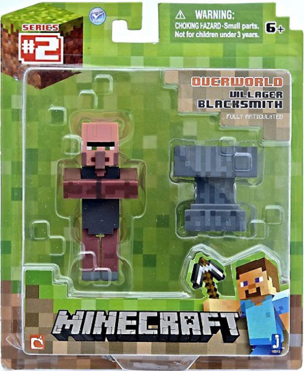 Minecraft Series 2 Villager Blacksmith Action Figure