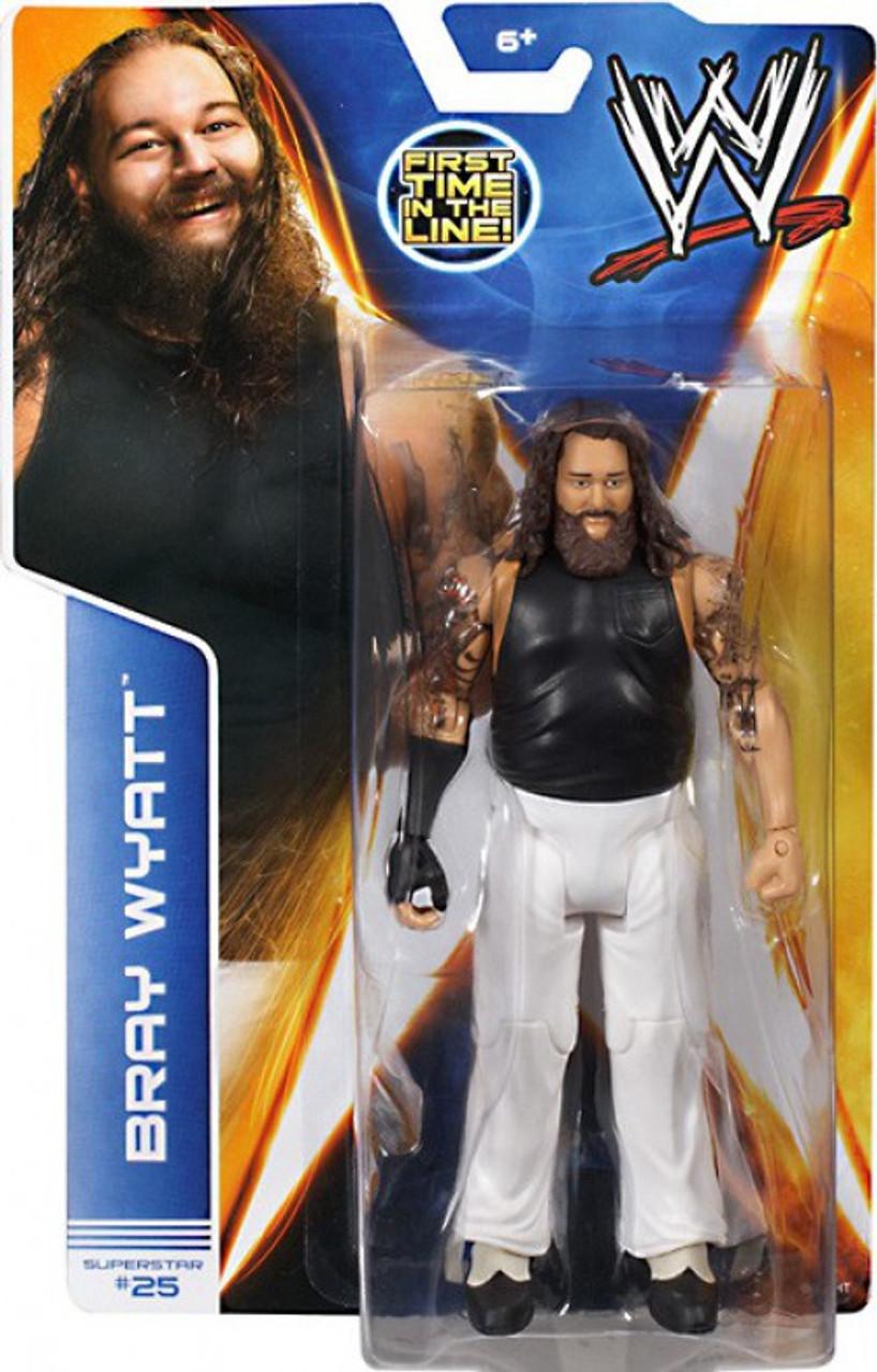 Bray Wyatt-BASIC SERIES 39-WWE Mattel Wrestling Figure