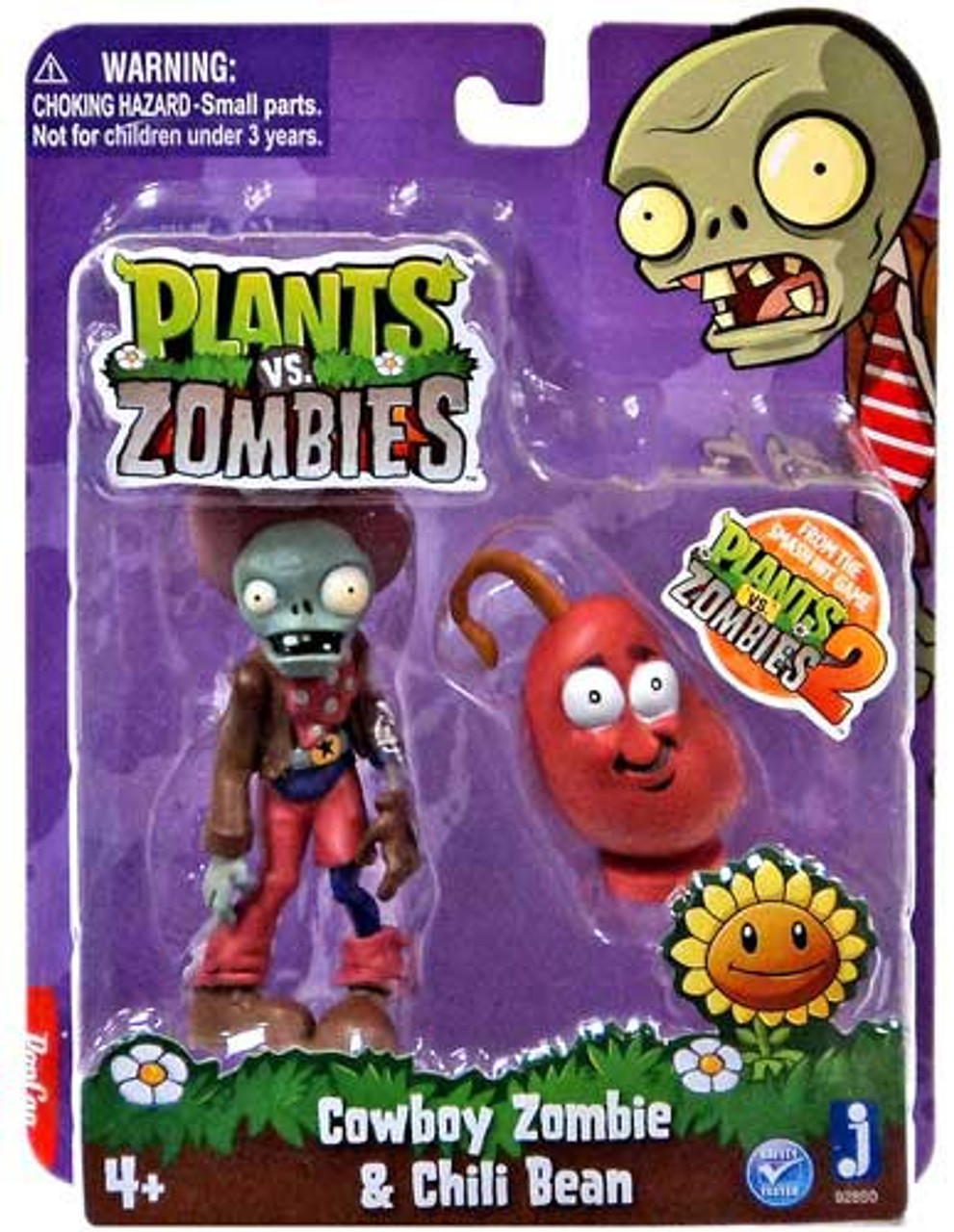 Plants vs  Zombies 2 Cowboy Zombie Chili Bean 3 Figure 2