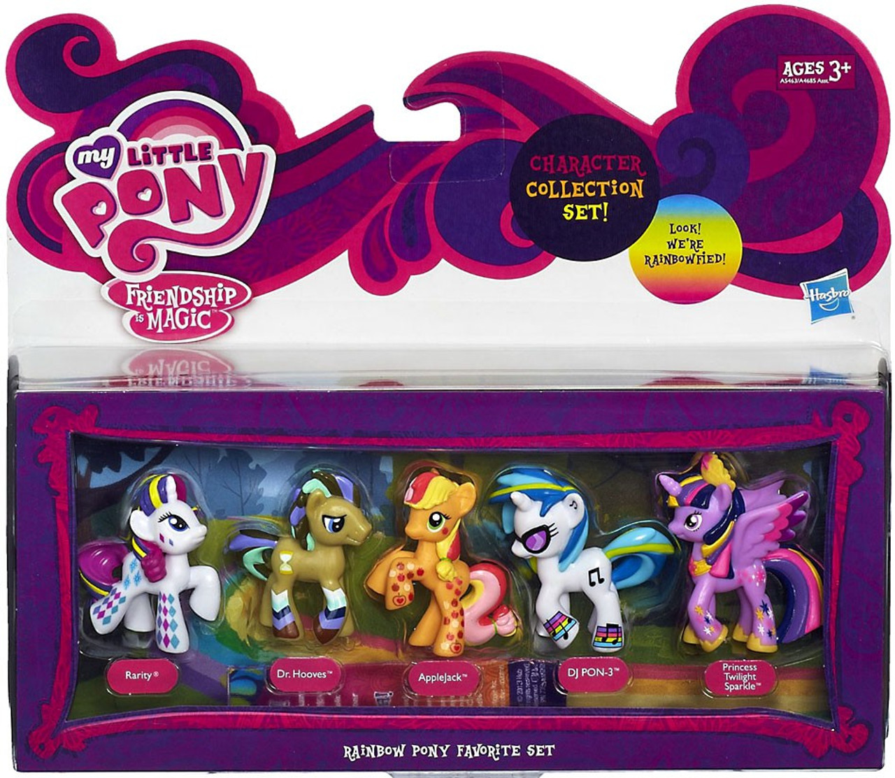 my little pony friendship is magic character collection