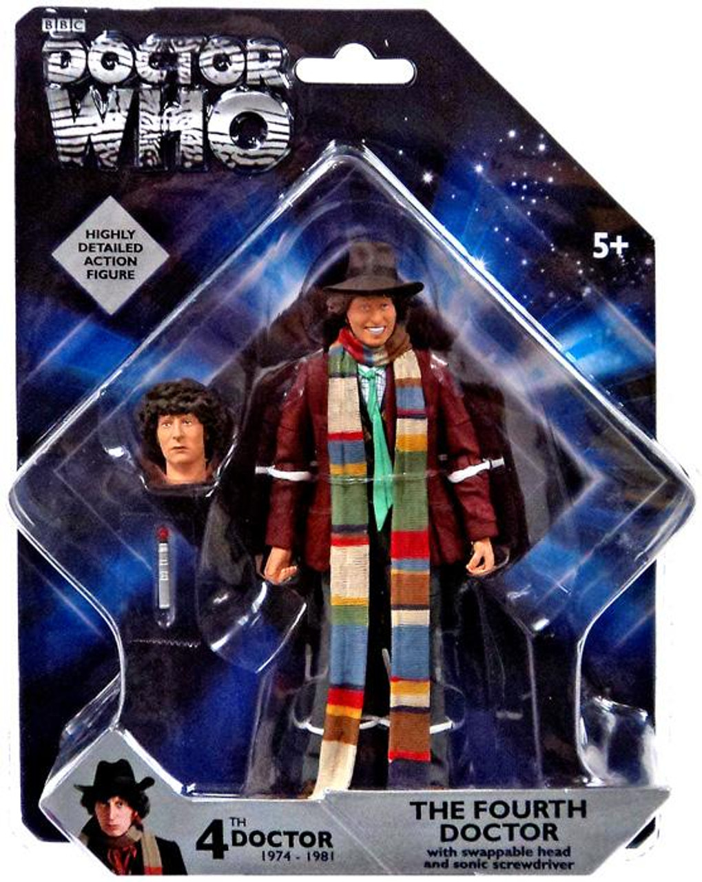 BBC DOCTOR WHO SCAROTH  RETRO ACTION FIGURE
