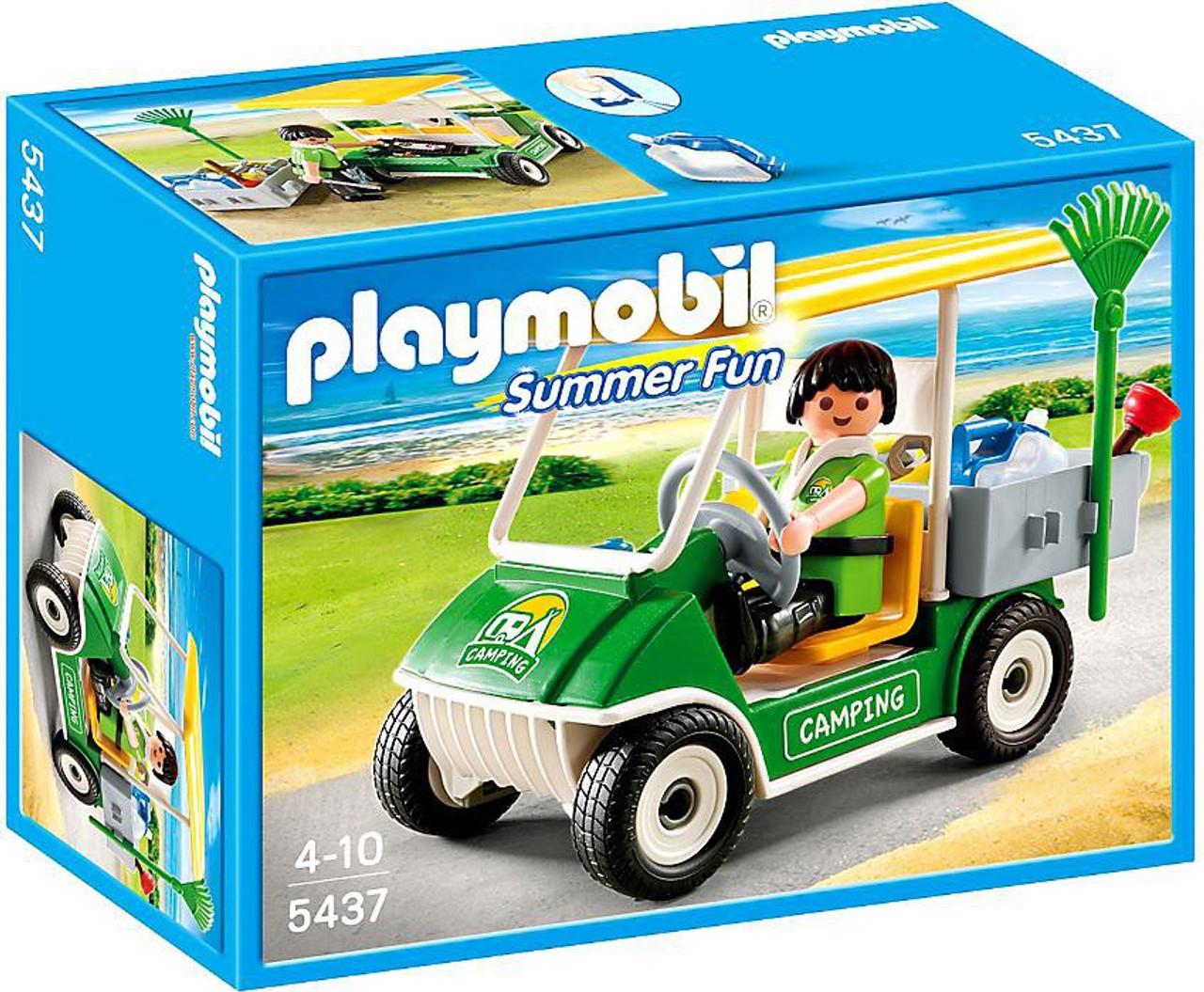 Playmobil Summer Fun Camping Service Cart Set 5437 - ToyWiz