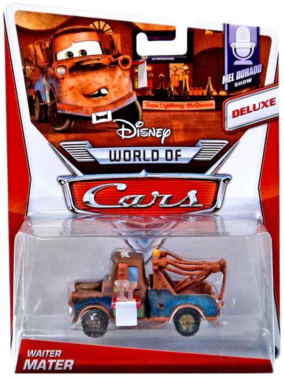 Disney Pixar Cars The World Of Cars Waiter Mater 155 Diecast Car 4