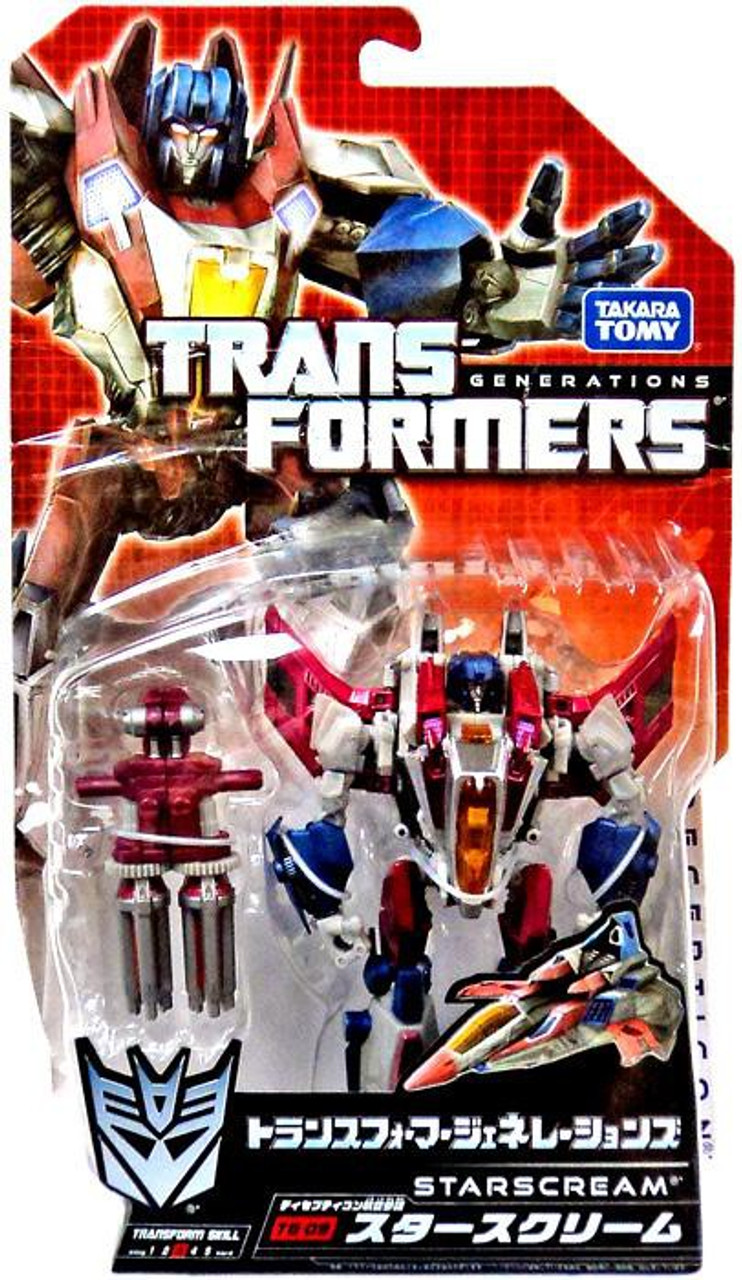 Transformers Generations Japanese Starscream Action Figure