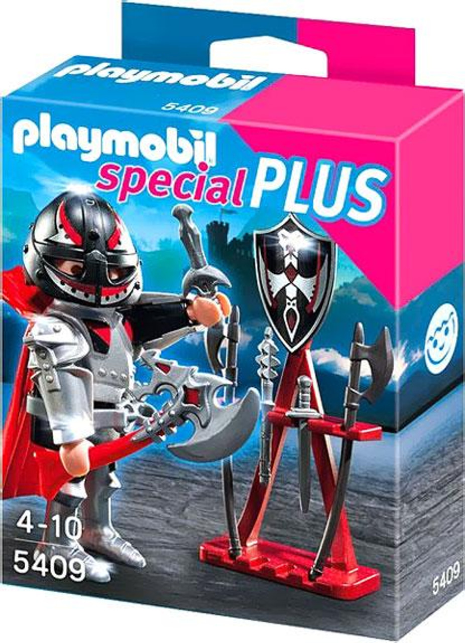 fb3e5613385 Playmobil Special Plus Knight Weapon Stand Set 5409 - ToyWiz