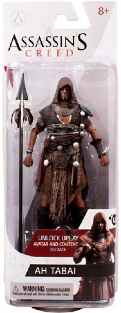 Assassin/'s Creed Series 3 Action Figure by McFarlane-Ah Tabai