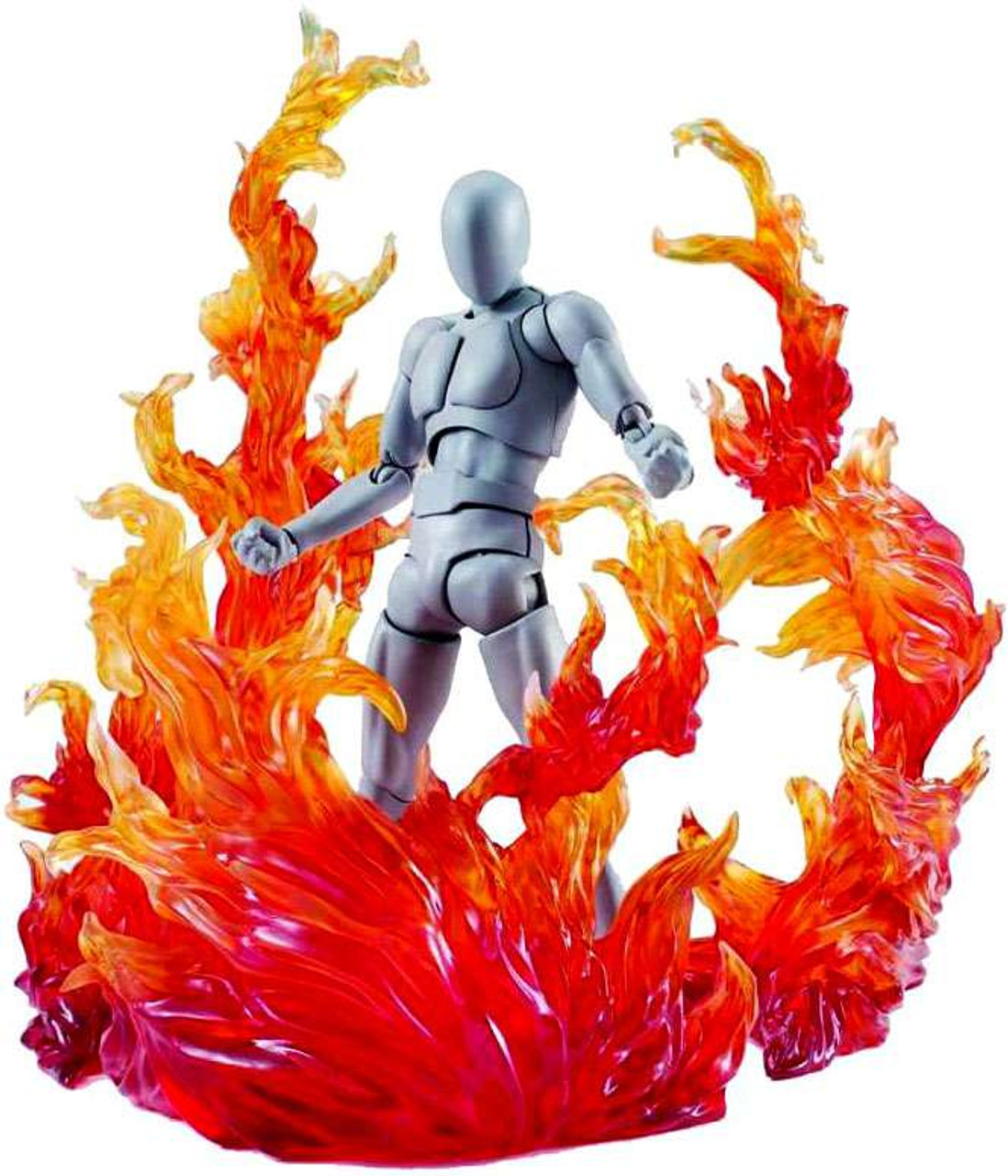Anime Figures Stand Explode Effect Red for Z S.H.Figuarts Tamashii Doll Accs
