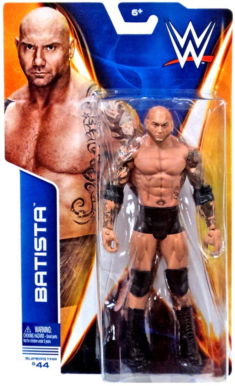 WWE Batista MATTEL BASIC Série SummerSlam Wrestling Figure