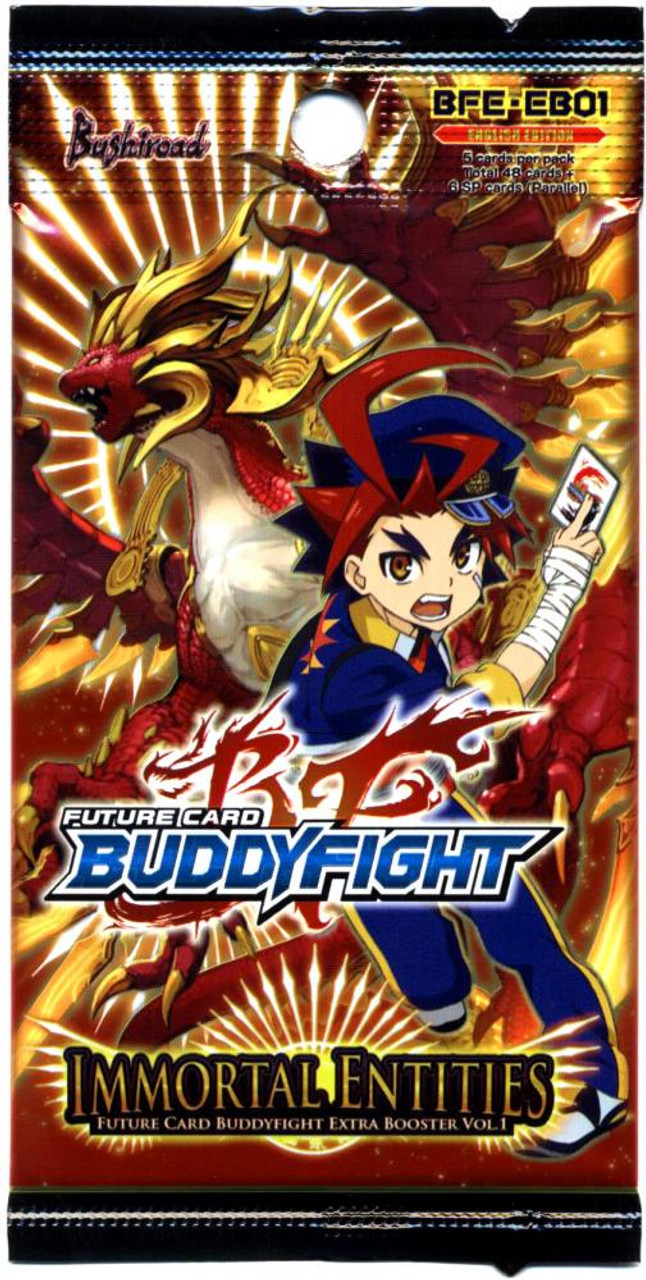 Future Card BuddyFight Immortal Entities Booster Pack