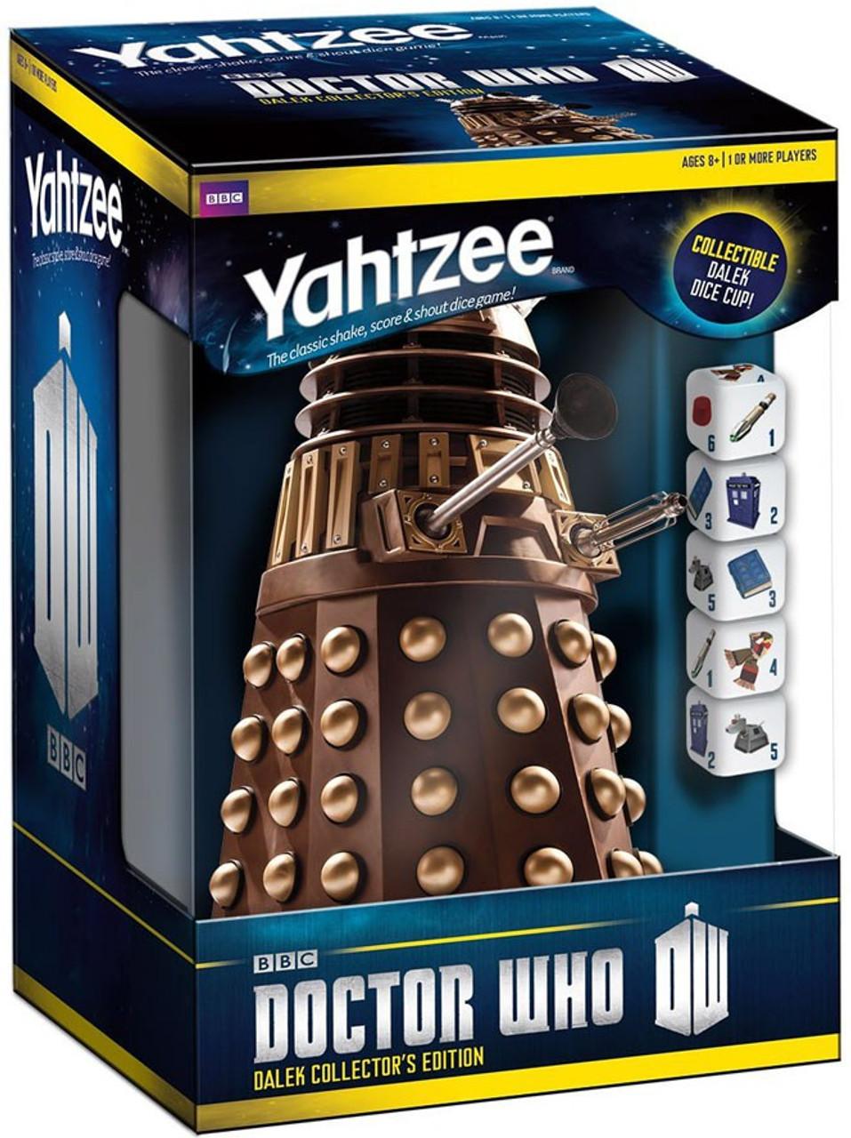 Doctor Who Yahtzee Doctor Who Yahtzee Board Game Usaopoly Toywiz