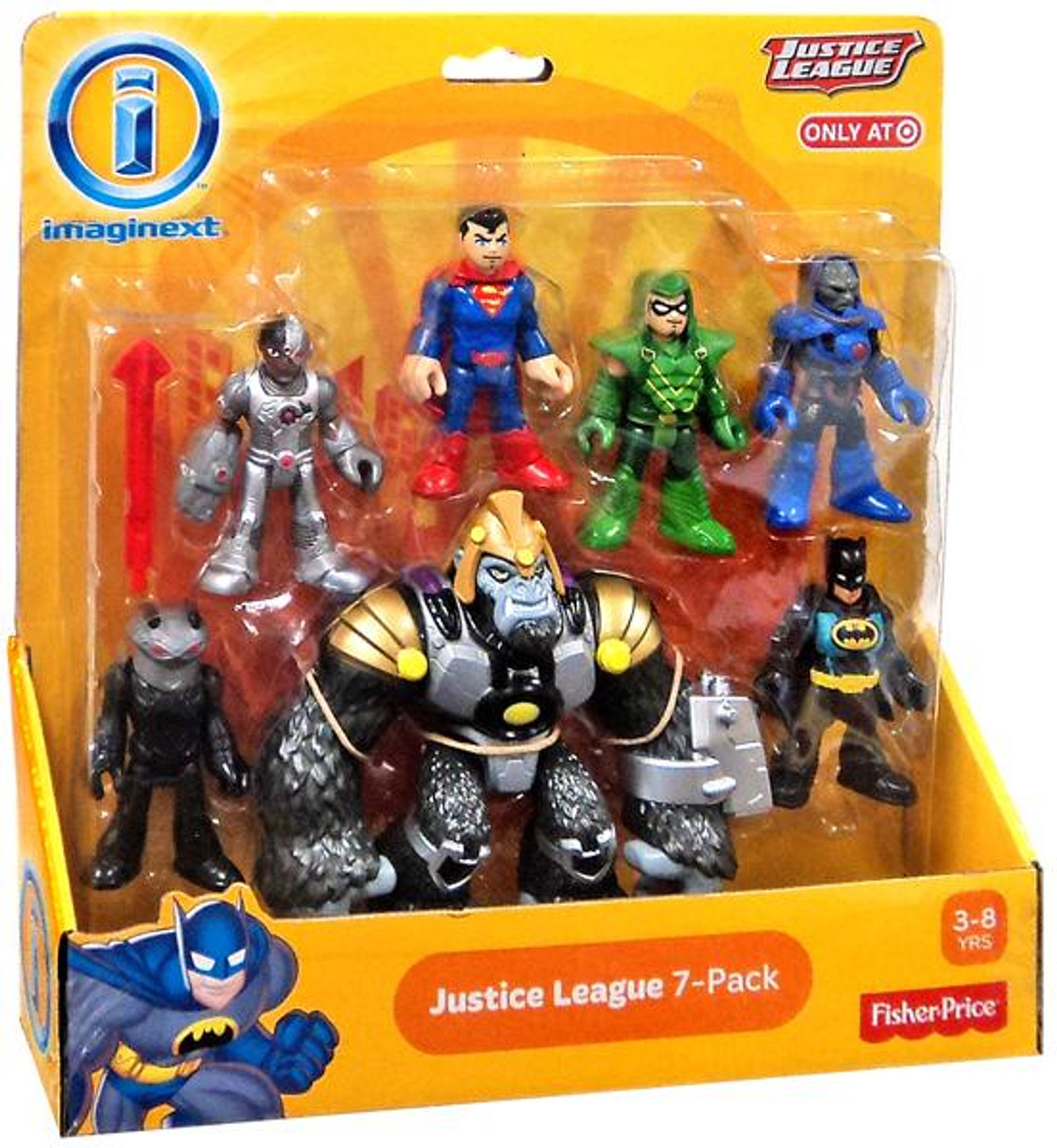Imaginext Dc Super Friends Cyborg Superman Figure New From Black Flash Pack Toys Hobbies Fisher Price